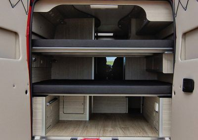 furgoneta camper en huesca